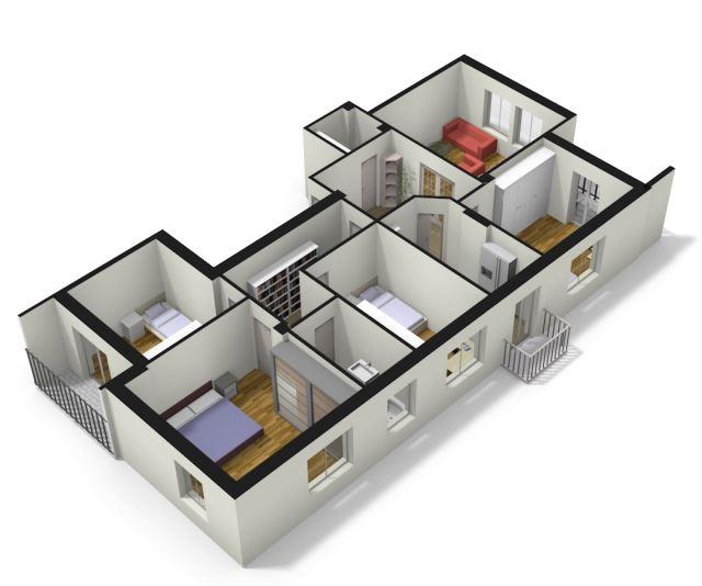 Codice 7531 1 appartamento in vendita bolzano 5 stanze for Subito it bolzano arredamento