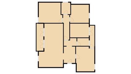 appartamento in vendita - bolzano Pianta